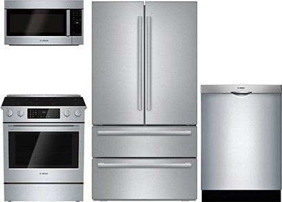 Bosch Slide-In Kitchen Upgrade Package - Electric