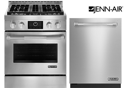 Jenn Air 2 Piece Pro Range Package