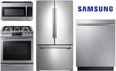 Samsung Slide In Kitchen Package - Gas