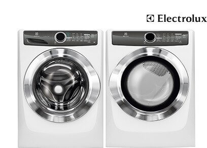 Electrolux Steam White Laundry - Gas
