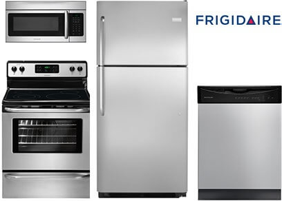 yale appliance Frigidaire Basic Stainless Steel Package