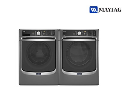 Maytag Front Load Laundry Metallic Slate - Electric