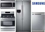 Samsung Side-by-Side Kitchen Package - Gas