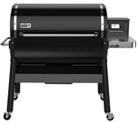 SmokeFire EX6 Pellet Grill - Black Free Delivery and Assembly on Grills over $499