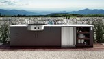 Urban Bonfire Outdoor Kitchen Design - Tuscan Design