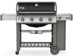 Genesis II E-410 Gas Grill - Black LP Free Delivery and Assembly on Grills over $499