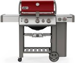 Genesis II SE-330 Gas Grill - Crimson LP Free Delivery and Assembly on Grills over $499