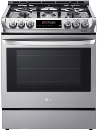 6.3 cu. ft. Gas Slide-in Range with ProBake Convection(R) and EasyClean(R)