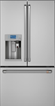 Caf(eback) ENERGY STAR(R) 22.2 Cu. Ft. Counter-Depth French-Door Refrigerator with Keurig(R) K-Cup(R) Brewing System