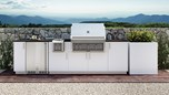 Urban Bonfire Outdoor Kitchen Design - Marbella Design