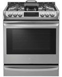 6.3 cu. ft. Gas Slide-in Range with ProBake Convection and EasyClean(R)