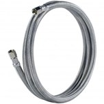 """1/4"""" x 5' Icemaker Hose, Braided Stainless"""